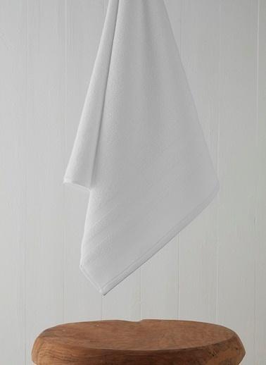 Chakra Mıro Havlu 85*150 Beyaz
